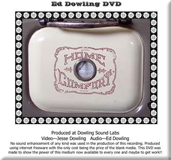 Ed Dowling - Home Comfort DVD